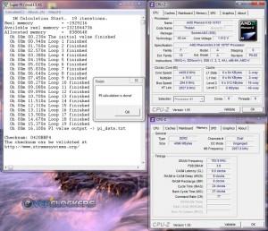 SuperPi 1M @ 4.4 GHz