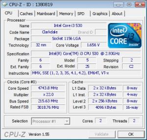 CPU-Z Validation
