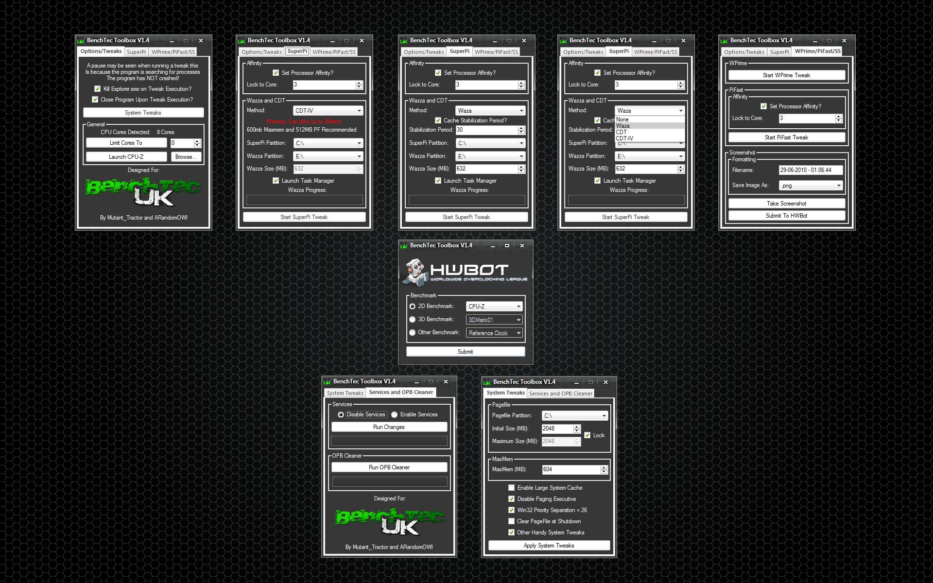 BenchTec Toolbox