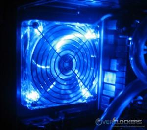 Included LED Fan