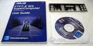 Manual, software, and I/O plate
