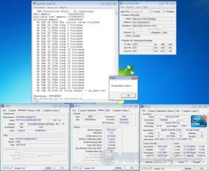 Super Pi 32M at 22x210 MHz