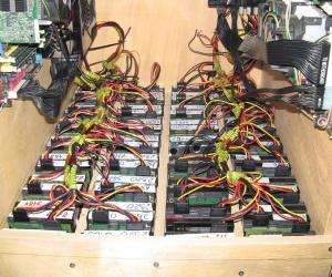 90 TB Server (Courtesy Bit-Tech)