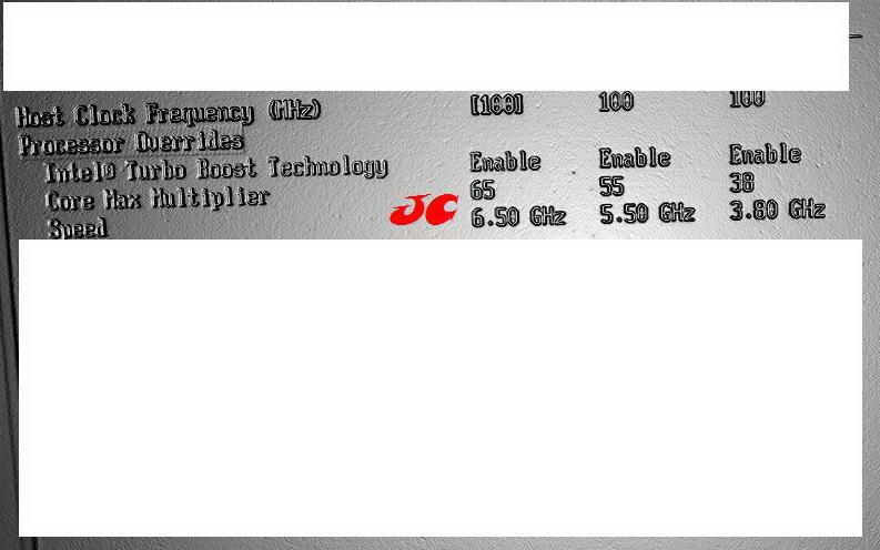 Sandy Bridge BIOS Screenshot (Courtesy Coolaler Forums)