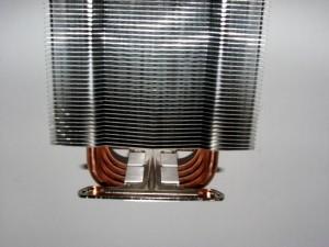 Intel mounting base installed on Heat sink.