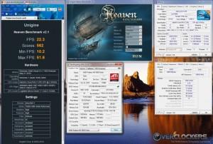Heaven Benchmark Max OC - 1.299 V