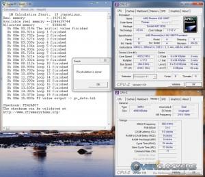 SuperPi 1M @ 4.5 GHz