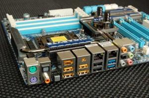 X58A-UD7 Rear I/O Panel