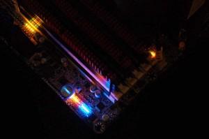 X58A-UD7 Status LEDs