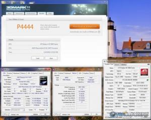 CPU at 4.26 GHz, GPU at stock
