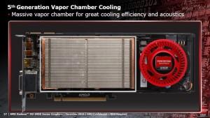 HD 6950 Vapor Chamber (Courtesy AMD Press Deck)
