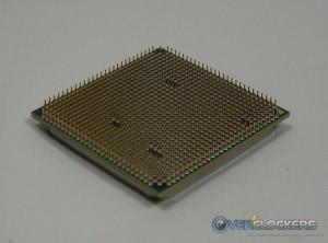 AMD Phenom II x6 1100T Black Edition Pins Angled
