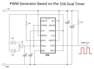 556 Dual Timer circuit