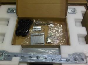 Hardware box open