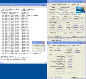 OC for SuperPi 32M (phase), 5475MHz