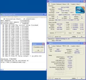 OC for SuperPi 1M (phase), 5460MHz @ 260 BCLK