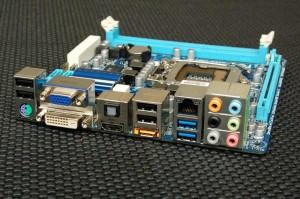 H55N-USB3 Rear I/O