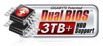 P67A-UD7 Dual bios