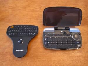 Size comparison to Lenovo's Wireless Multimedia Remote