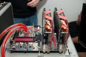 Ares installed, Danger Den system cooling the i7-2600K