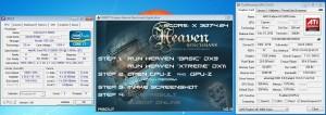 V2-V3's Unigine Heaven Xtreme Preset (DX11) results on LN2 with 3x 6970s