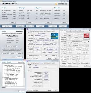 3DMark06 at 5.4 GHz