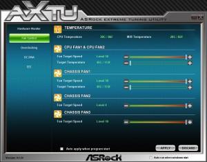 AXTU Fan Control
