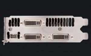 Triple Dual Link DVI + Mini-Display port.