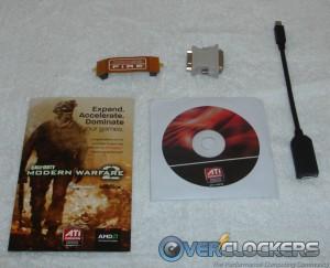 PowerColor HD 6950 PCS++ Acessories