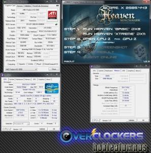 """HWBot Heaven """"Xtreme"""" DX11 - 2585.443"""