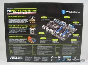 P8P67 WS Revolution Box Rear
