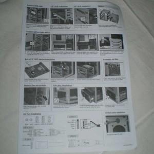 PC-A04 manual, folded