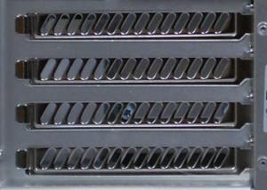 Full set of PCI covers, not break-away tabs