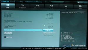 UEFI Advanced Mode Main