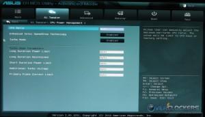 Ai Tweaker Menu IV - CPU Power
