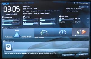 EZ Mode BIOS