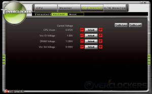 Toverclocker voltage settings