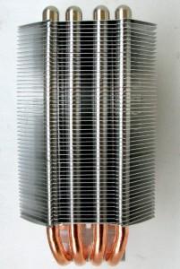 Side view of heat sink body