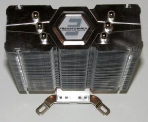 Top view of heatsink