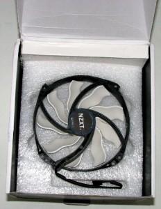 Second fan in same caddy packed below first fan