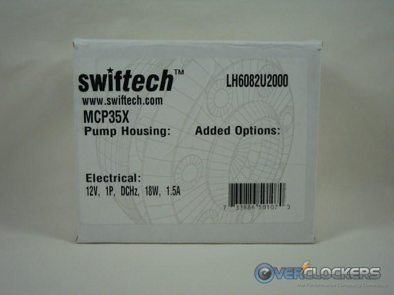 Swiftech MCP35X Pump Box