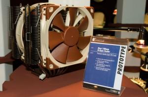 Noctua Heatsink Prototype with 140mm Fans