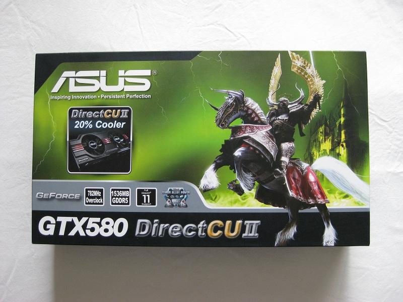 Asus GTX 580 Direct Cu II.