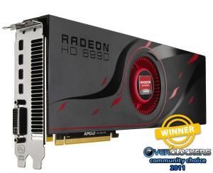 Best Graphics Card - AMD HD 6990