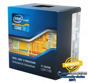 Best Processor - Intel i7 2600K