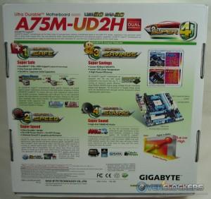 A75M-UD2H Box Rear