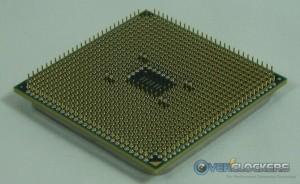 AMD A8-3850 Pins Angled