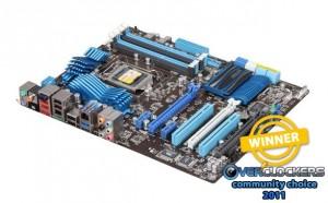 Best Motherboard - ASUS P8P67 Pro