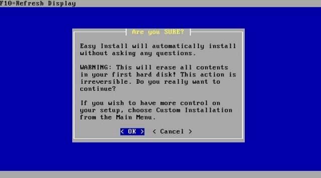 BSD installing is easy