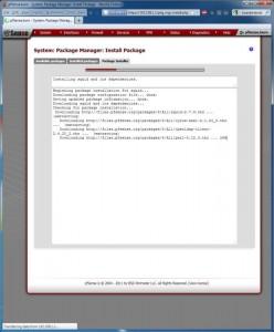 pfSense Package Installing
